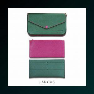 ladyB pouchette Olive