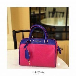 LadyB Double Zip handbag
